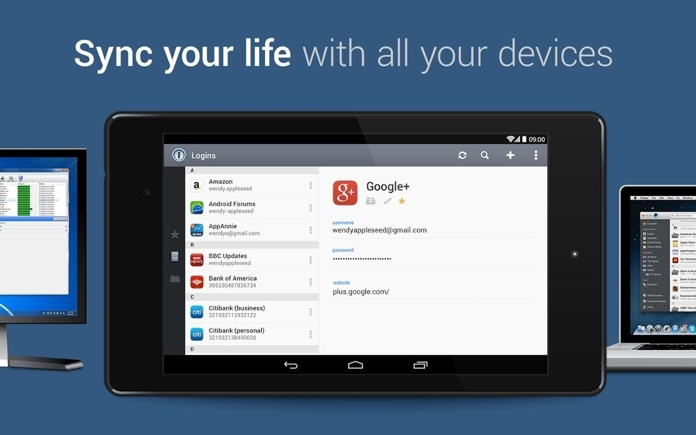 Скриншот 1Password для Android