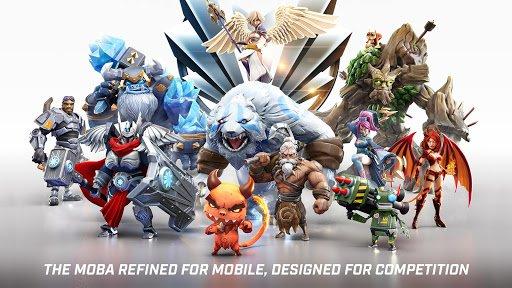 Скриншот Call of Champions для Android