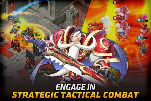 Скриншот Fantasy War Tactics для Android