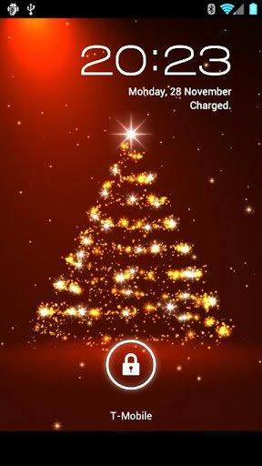 Скриншот Новогодние живые обои  / 3D Christmas Live Wallpaper Fr для Android