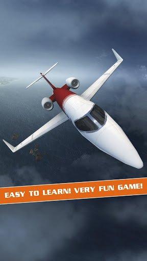 Скриншот 3D-авиасимулятор / Flight Pilot Simulator 3D для Android