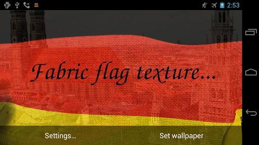 Скриншот 3D Флаг Германии LWP для Android