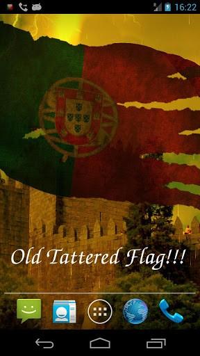 Скриншот 3D флаг Португалии LWP для Android