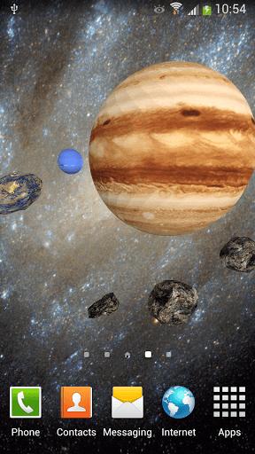 Скриншот 3D Космос Живые Обои FREE для Android