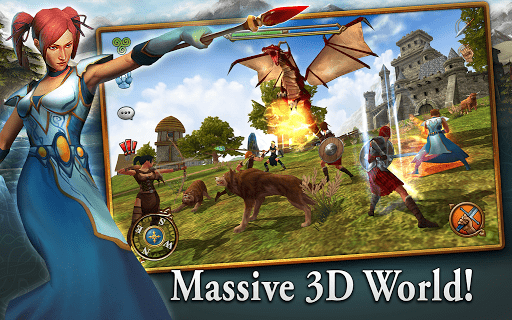 Скриншот 3D MMO Celtic Heroes для Android