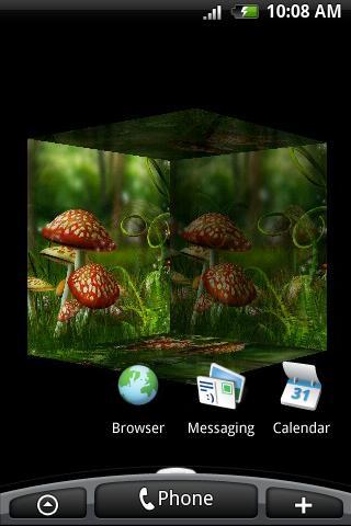 Скриншот 3D Mushroom для Android