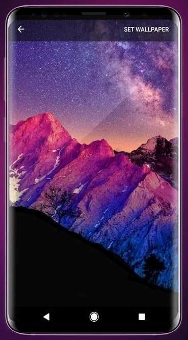 Скриншот 3D Parallax Background для Android