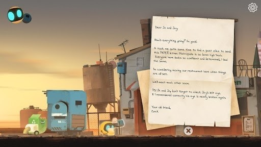 Скриншот Abi: A Robots Tale для Android