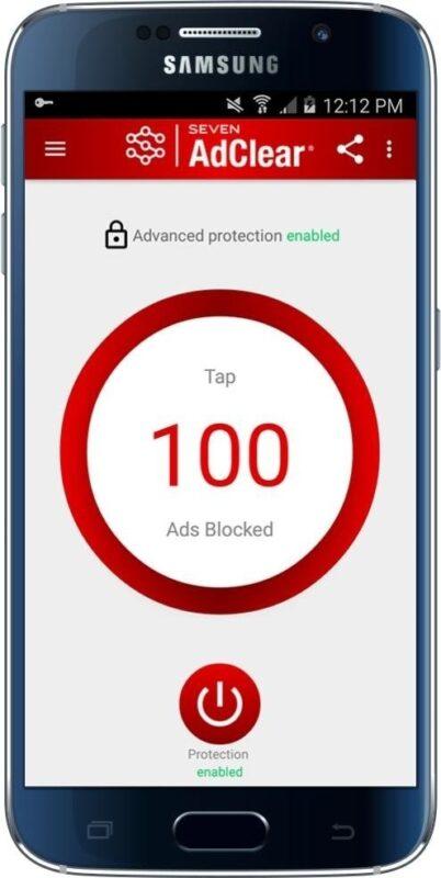 Скриншот AdClear для Android