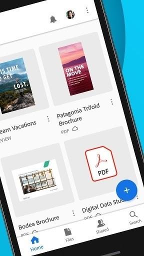 Скриншот Adobe Acrobat Reader для Android