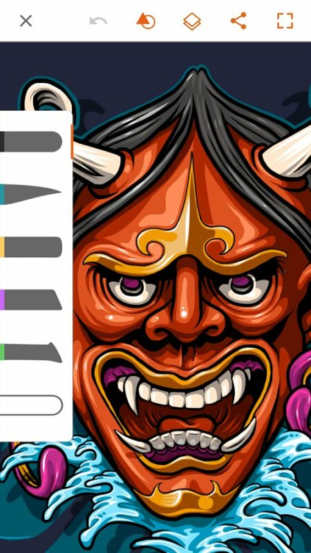 Скриншот Adobe Illustrator Draw для Android