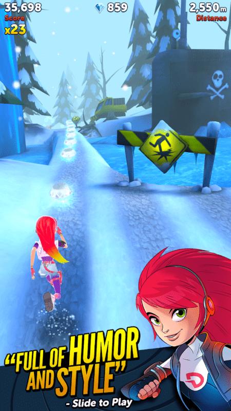 Скриншот Обзор игры Agent Dash для Android для Android