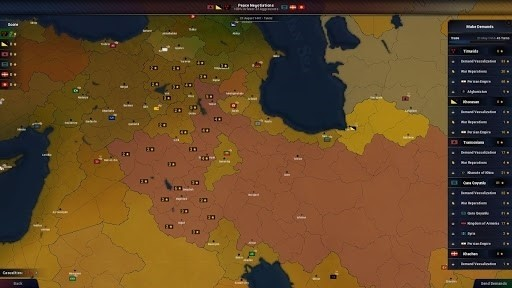 Скриншот Age of Civilizations 2 для Android
