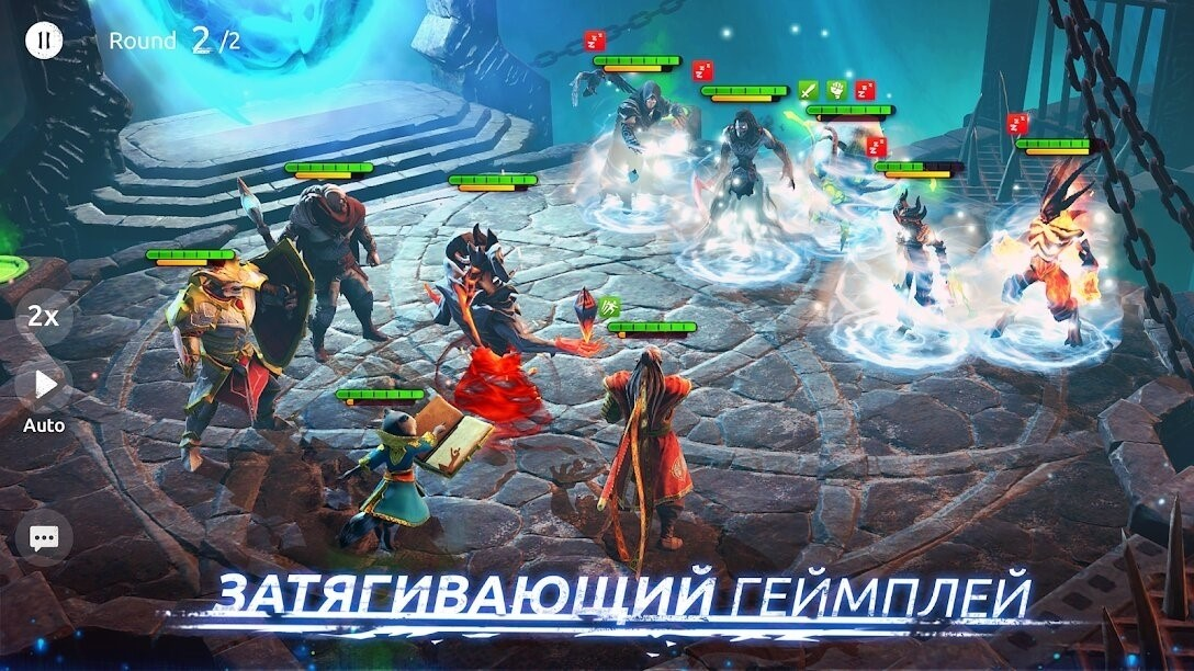 Скриншот Age of Magic для Android