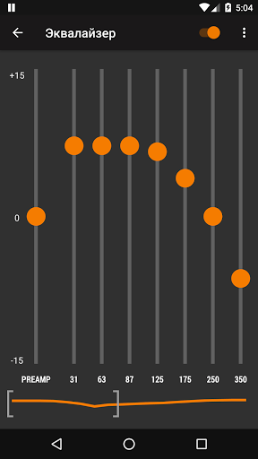 Скриншот AIMP Remote Control для Android