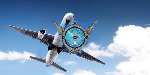 Скриншот Aircraft Live Wallpaper для Android