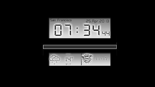 Скриншот Alarm Clock Цифровой будильник для Android