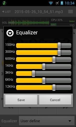 Скриншот All That Recorder для Android
