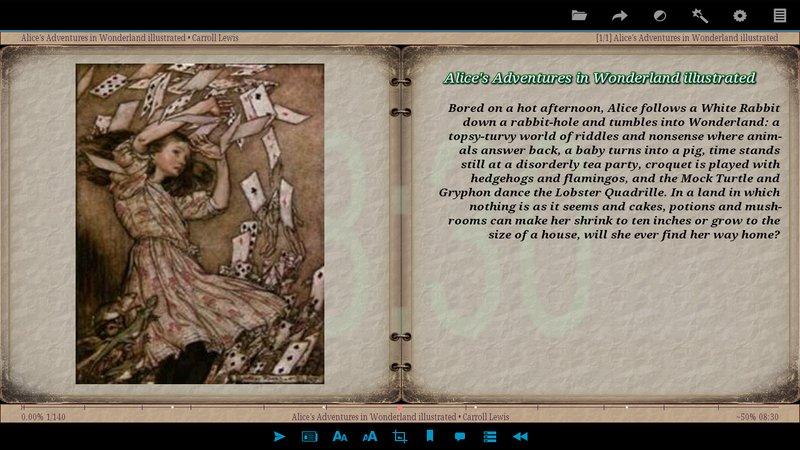 Скриншот AlReader для Android