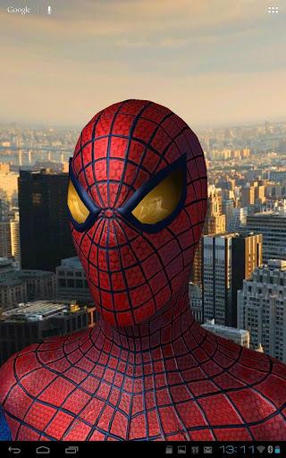 Скриншот Amazing Spider-Man 3D Live WP для Android