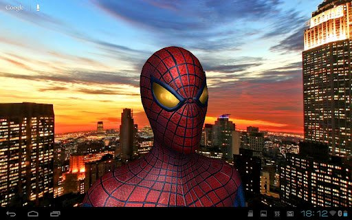 Скриншот Amazing Spider-Man 3D Live WP для Android