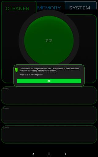 Скриншот Ancleaner для Android