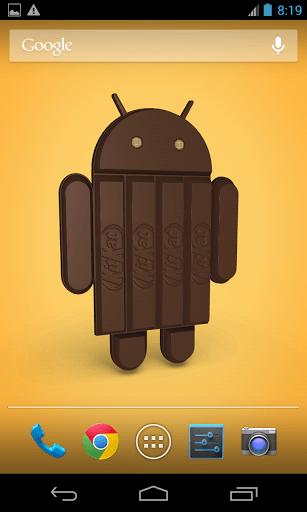 Скриншот Андроид KitKat 3D для Android