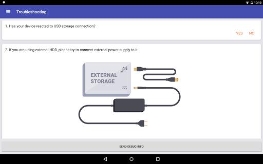 Скриншот Android USB Tool для Android