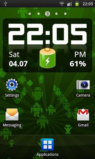 Скриншот Андроиды! Живые обои / Androids! LWP для Android