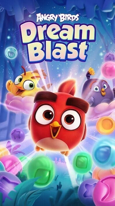 Скриншот Angry Birds Dream Blast для Android