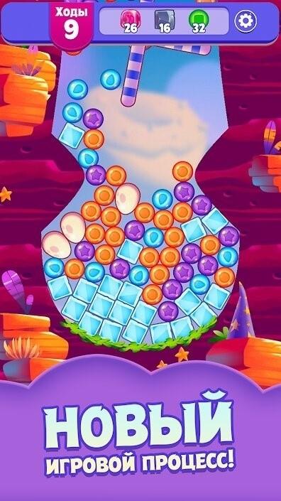 Скриншот Angry Birds Dream Blast для Android