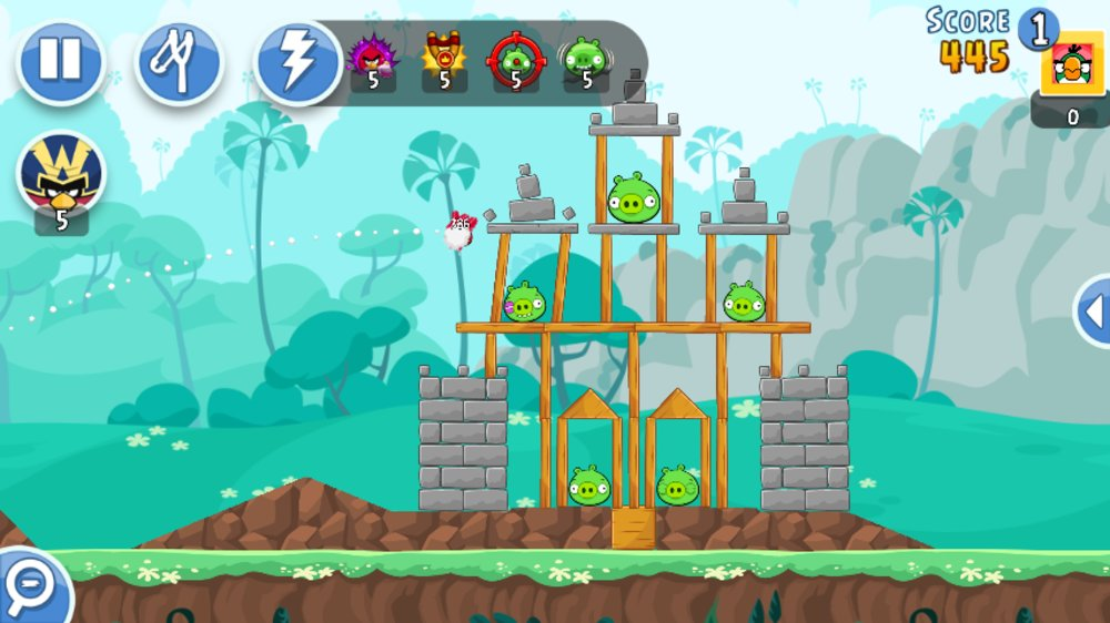 Скриншот Angry Birds Friends для Android