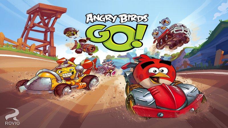 Скриншот Angry Birds Go для Android