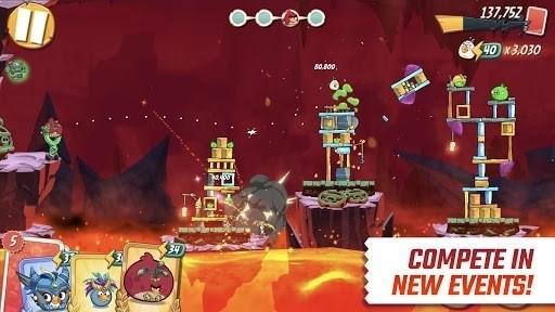 Скриншот Angry Birds Goal! для Android