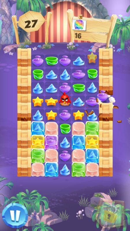 Скриншот Angry Birds Match для Android