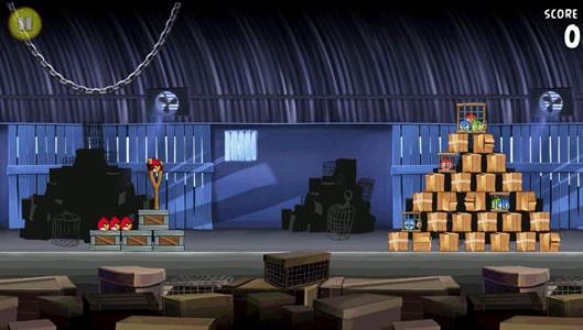 Скриншот Angry Birds Rio для Android
