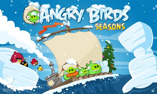 Скриншот Angry Birds Seasons для Android