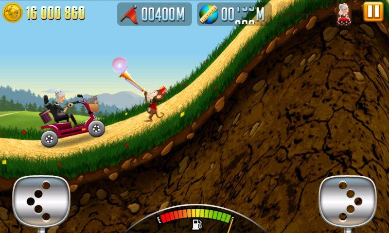 Скриншот Angry Gran Racing для Android