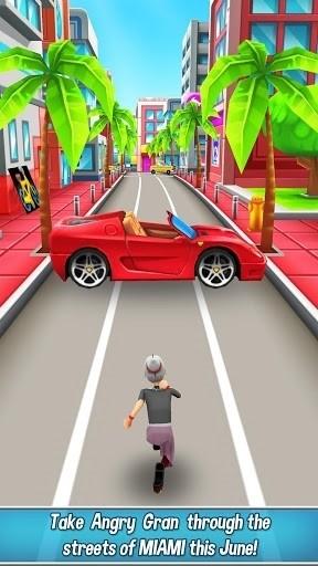 Скриншот Angry Gran Run для Android