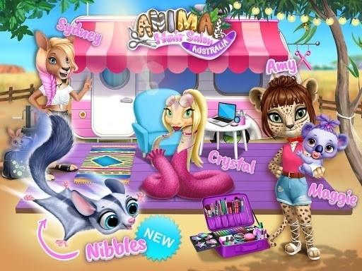 Скриншот Animal Hair Salon для Android