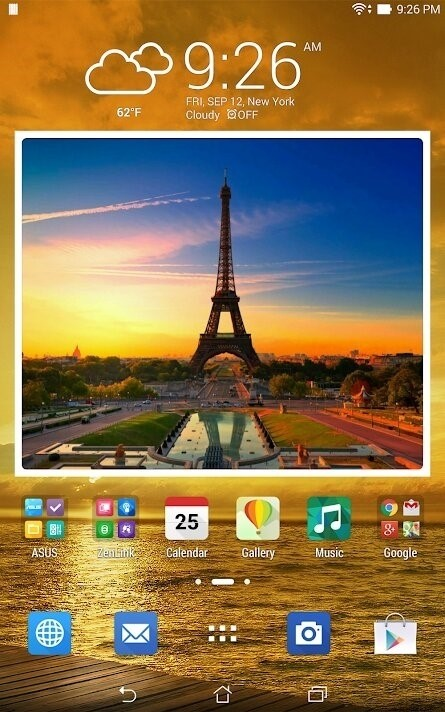 Скриншот Animated Photo Frame Widget для Android