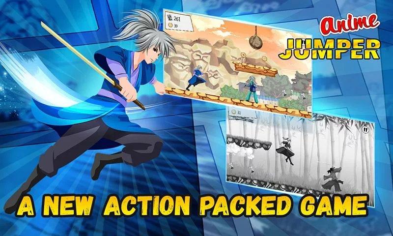 Скриншот Anime Jumper для Android