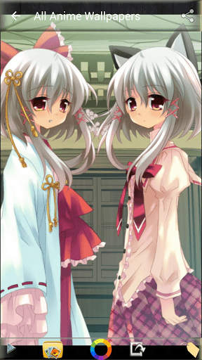 Скриншот Аниме Обои для Android