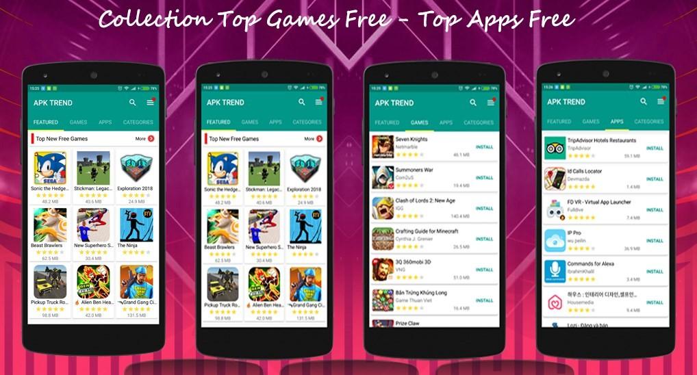 Скриншот APKPure App для Android