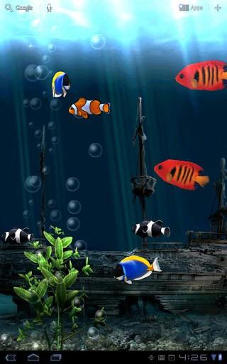 Скриншот Aquarium Free LWP для Android