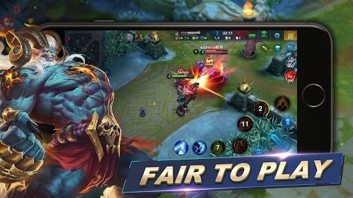 Скриншот Arena of Valor: Арена 5v5 для Android