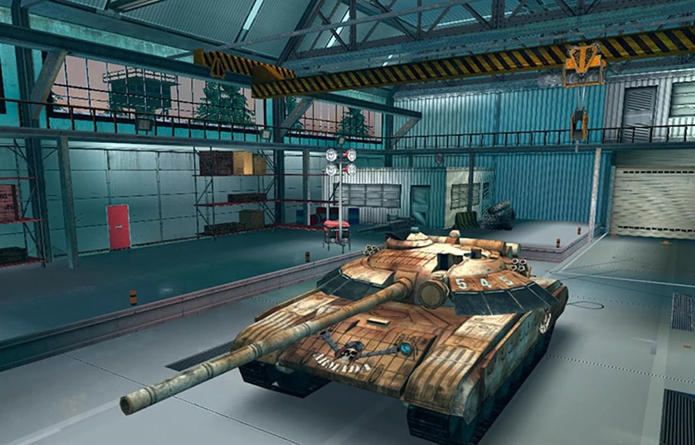 Скриншот Armada: World of Modern Tanks для Android