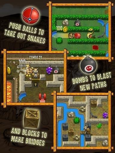 Скриншот Armadillo: Gold rush для Android