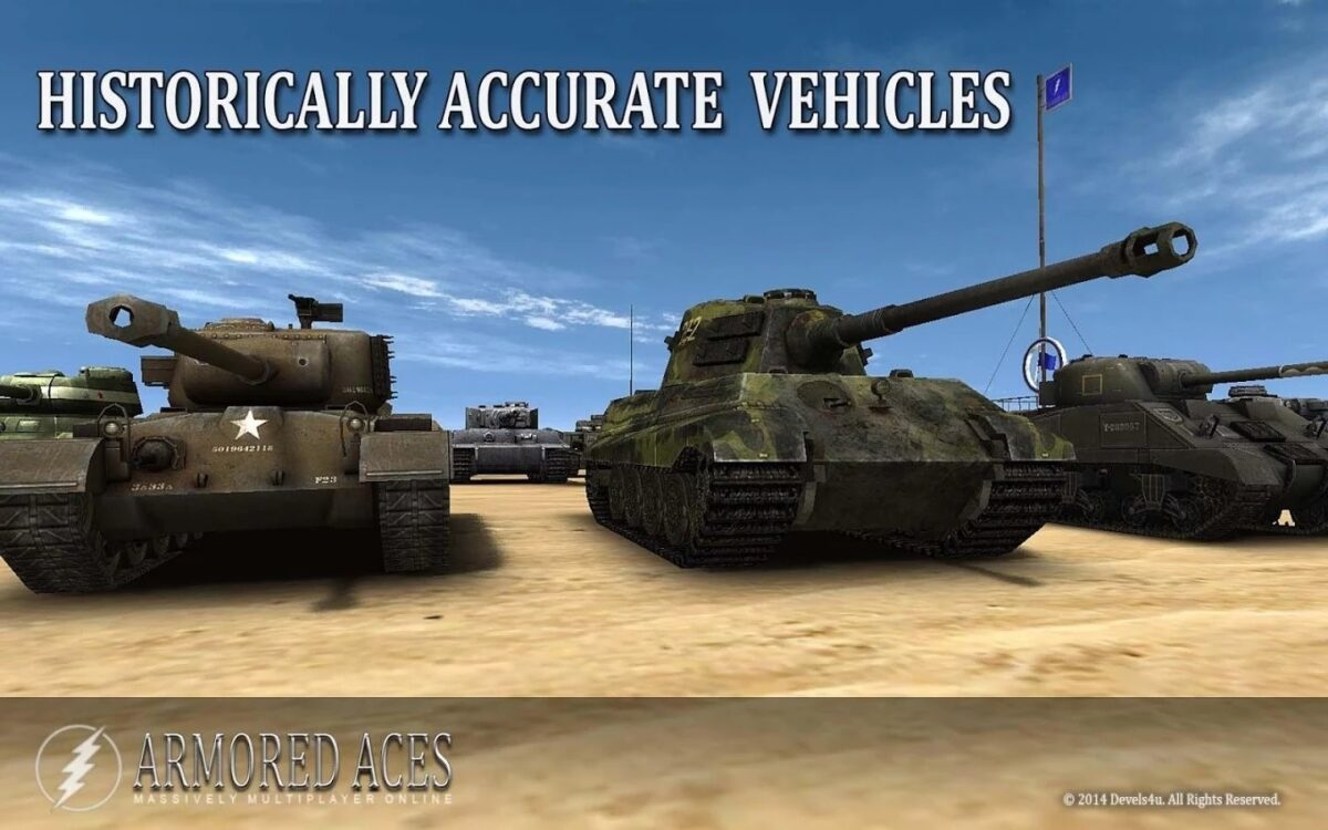 Скриншот Armored Aces для Android