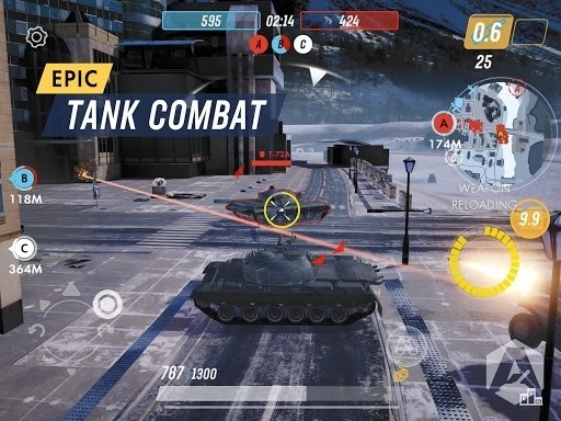 Скриншот Armored Warfare: Assault для Android